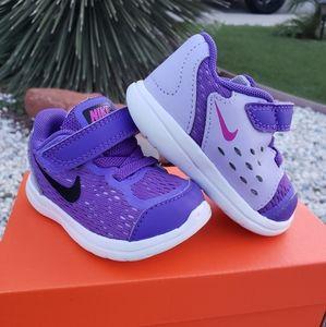 Nike Flex - Girls 4c Purple - Shoes